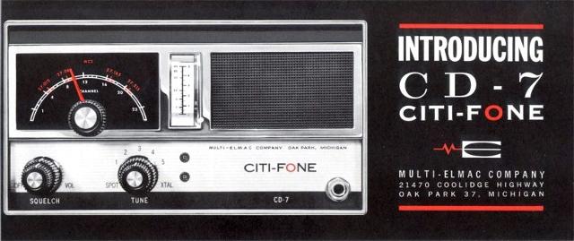 Multi-Elmac Citi-Fone CD-7 (Mobile/Base) Citi-f16