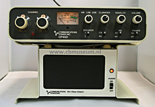 Communications Power Inc. CP 400 (Mobile) Compow10