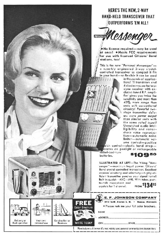 Johnson Personal Messenger (Portable) E_f_jo30