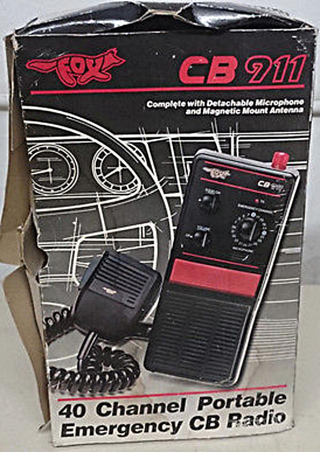 Fox CB 911 (Emergency (Portable/Mobile) Emerge10