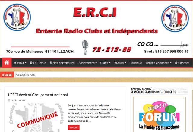 La Planète Cibi Francophone - Portail Erci_e10