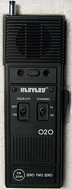 Harvard Zero Two Zero H-2 (Portable) Harvar16