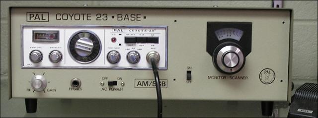 PAL Coyote 23-Base (w/vfo) (Base) Pal-co10