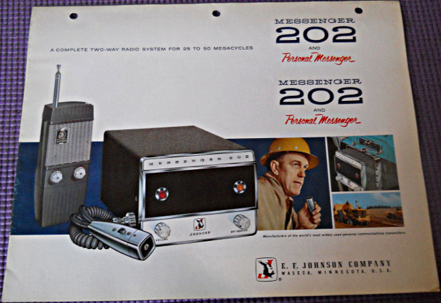 Johnson Messenger 202 (Portable/Mobile) S-l16030