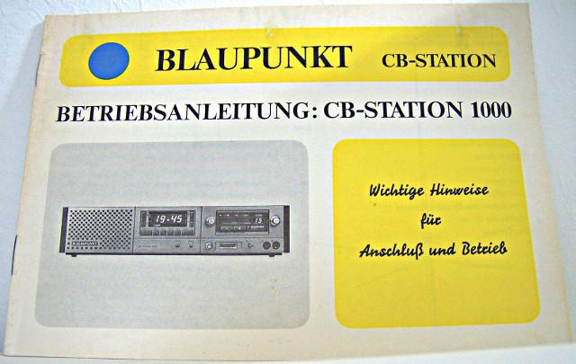 Blaupunkt CB Station 1000 (Base/Autoradio) S-l16032