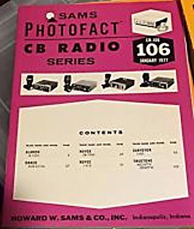 Photofact CB Radio Series (Magazine (USA) S-l22516