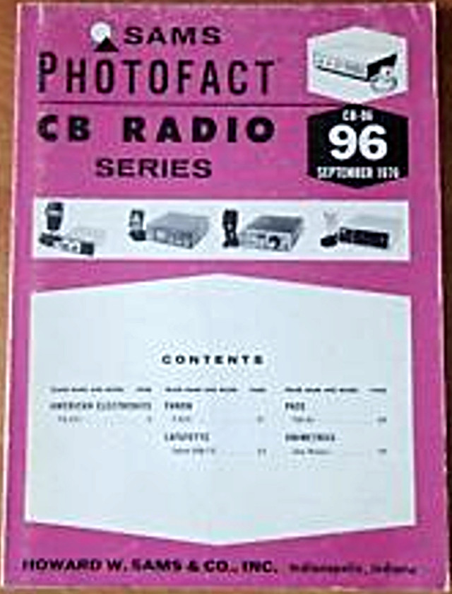 Photofact CB Radio Series (Magazine (USA) S-l22517