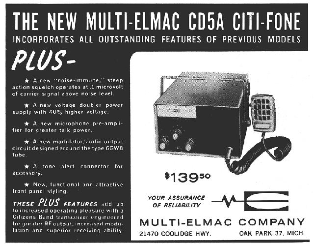 Multi-Elmac Citi-Fone CD-5A (Mobile/Base) S9_mag10