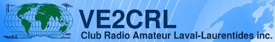 VE2CRL Club Radio Amateur Laval-Laurentides inc. (Québec) Sans_240