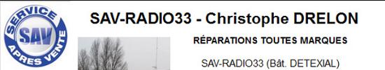 --> SAV-Radio33 - Service Après Vente Radio 33 (Sud-Ouest France) Sav_ra11