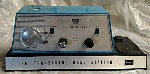 Sears Ten Transistor Base Station (Base) Sears10