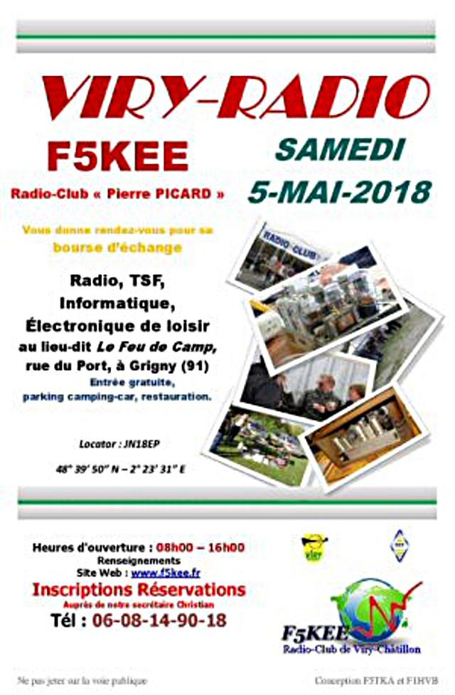 Brocante - Brocante « Viry-Radio » 2018 (dpt91) (05 mai 2018) Viry-r11