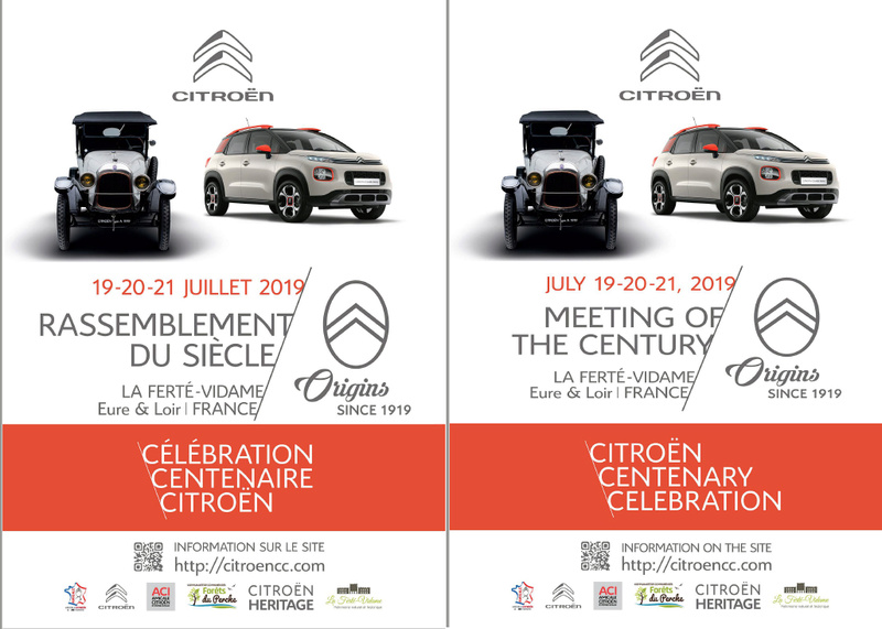 2019 > Célébration du Centenaire de CITROËN par l'association Flyer_11
