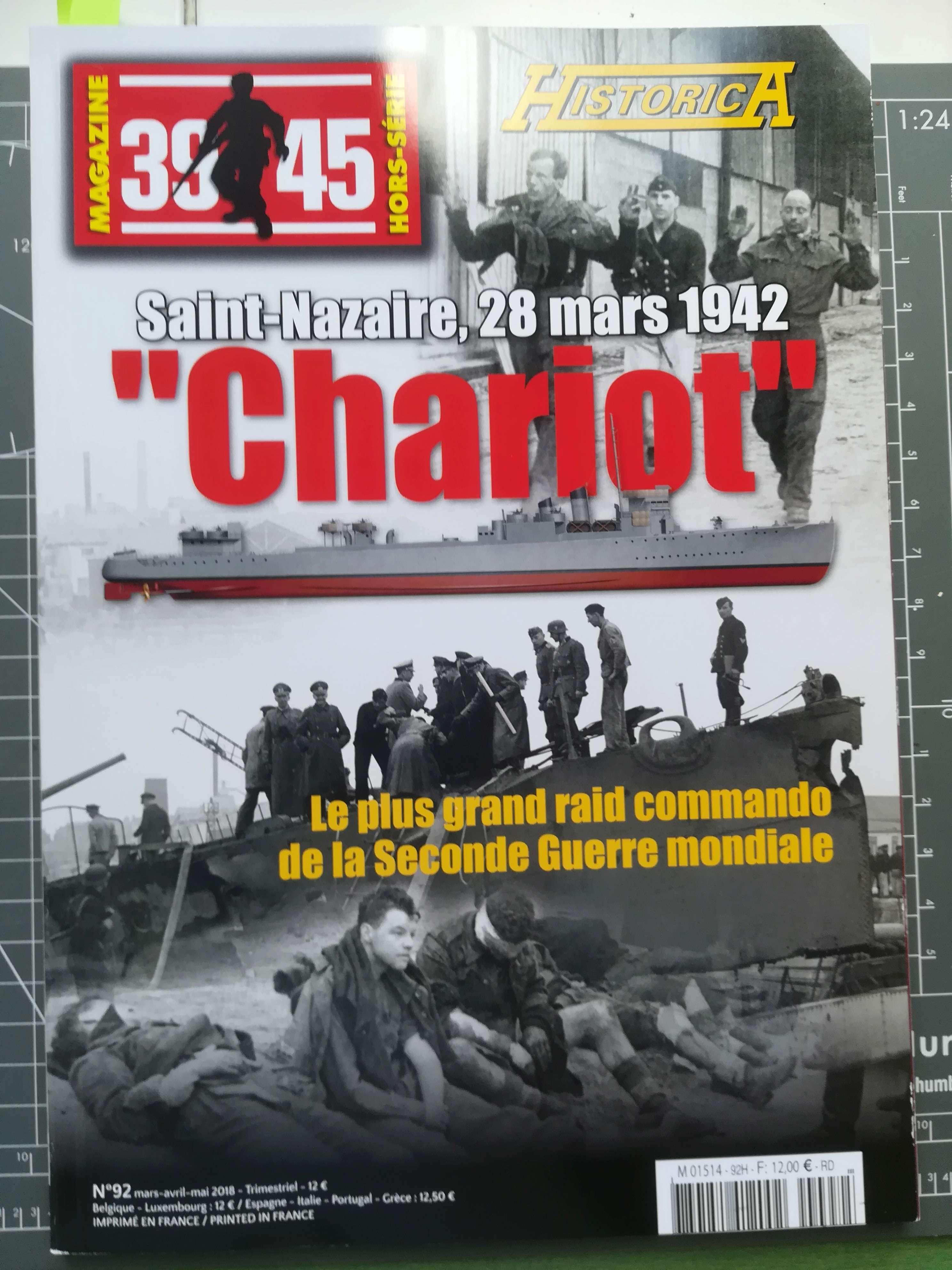 "Opération ""Chariot"" - Saint Nazaire 28 mars 1942 (Vosper MTB 74 - Italeri 1/35) Img_1564"