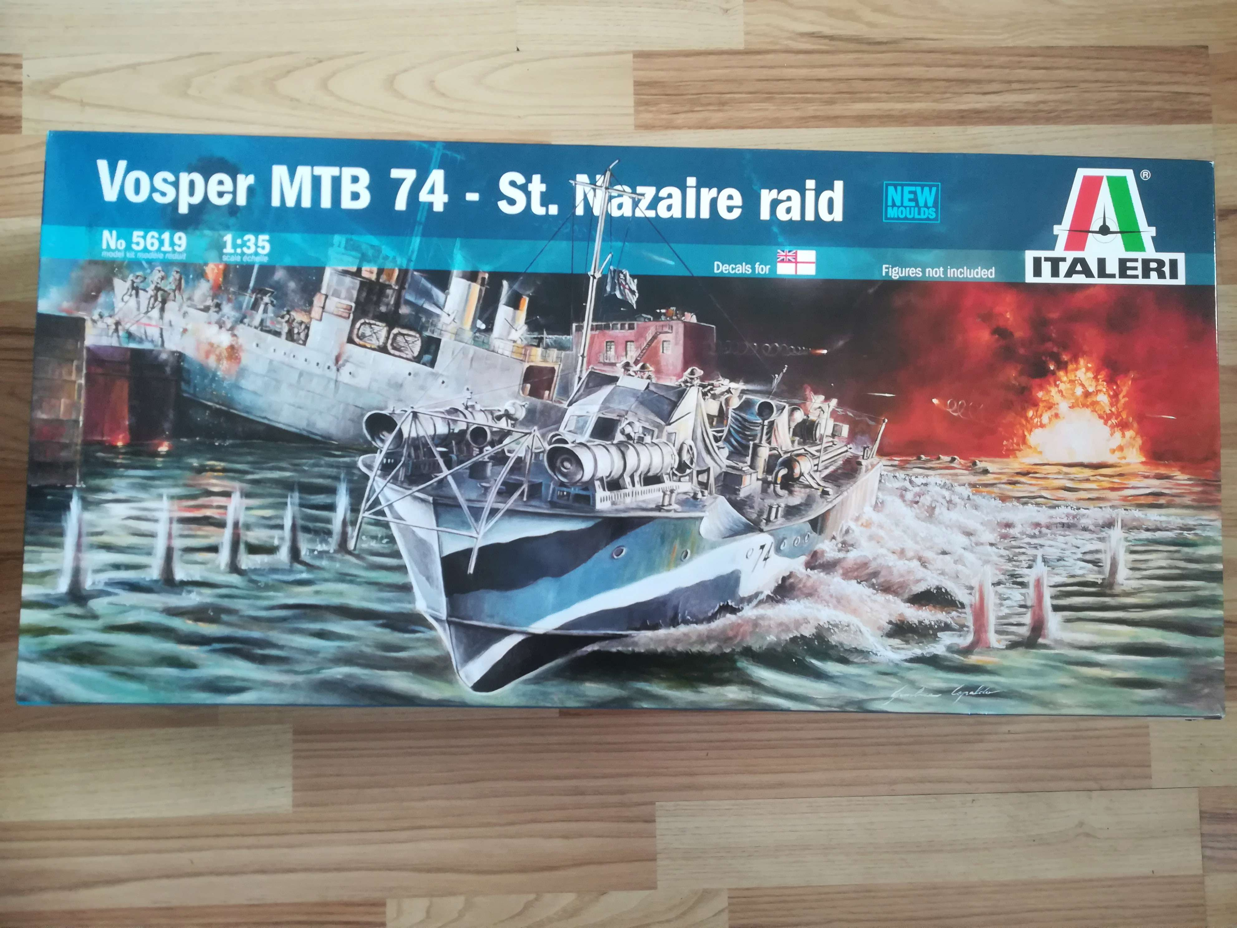 "Opération ""Chariot"" - Saint Nazaire 28 mars 1942 (Vosper MTB 74 - Italeri 1/35) Img_1570"