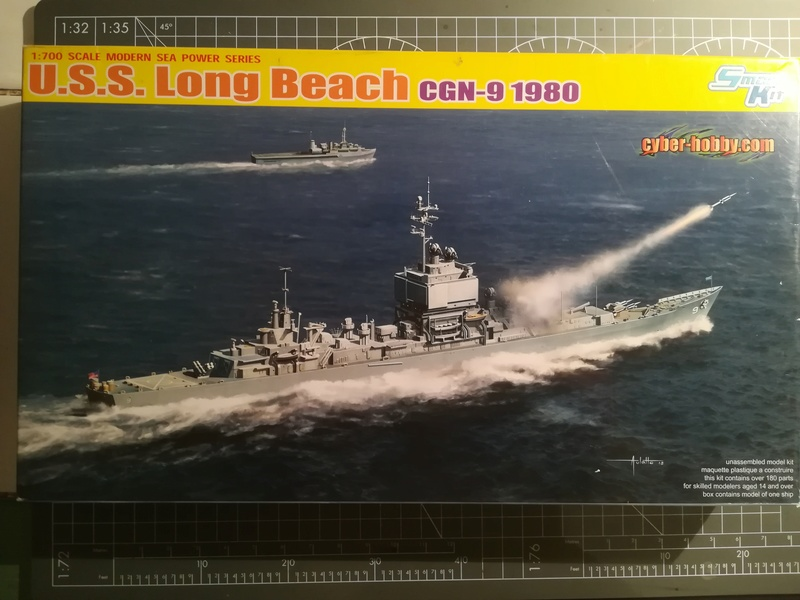 USS Long Beach - CGN-9 (Dragon 1/700°) Img_1654