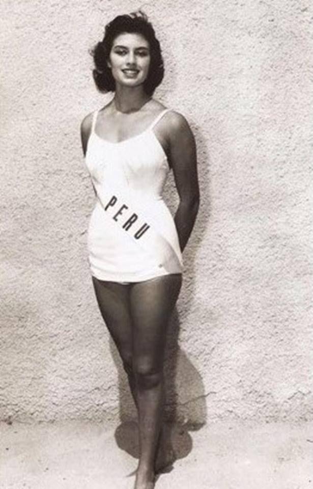 gladys zender, miss universe 1957. primera latina a vencer este concurso. - Página 3 01740310