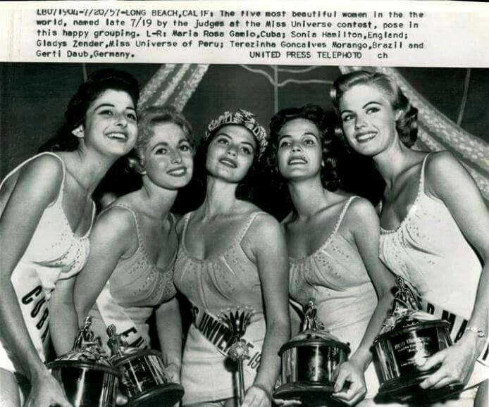 gladys zender, miss universe 1957. primera latina a vencer este concurso. - Página 3 12a3e610