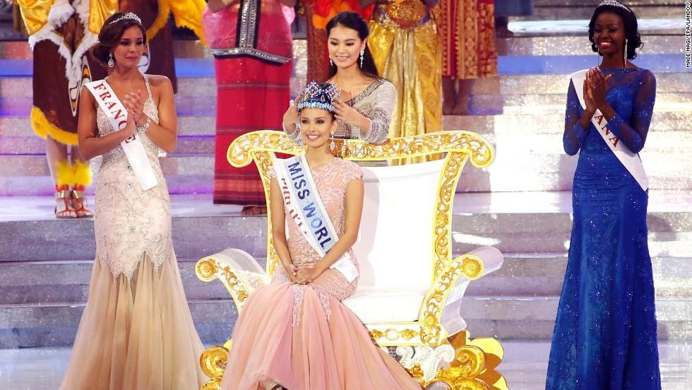 wenxia yu, miss world 2012.  - Página 2 13092810