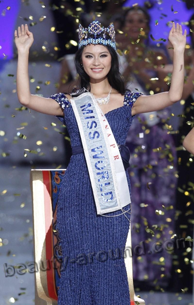 wenxia yu, miss world 2012.  1513