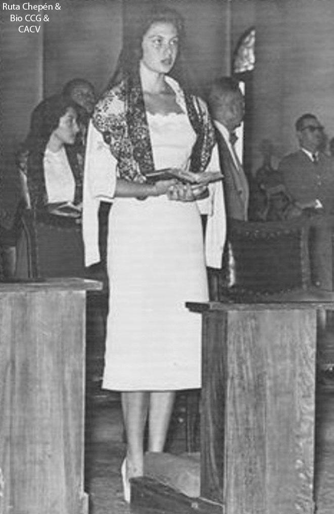 gladys zender, miss universe 1957. primera latina a vencer este concurso. 1957_410