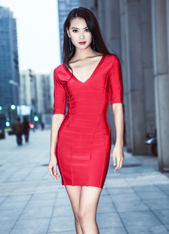 wenxia yu, miss world 2012.  20150410
