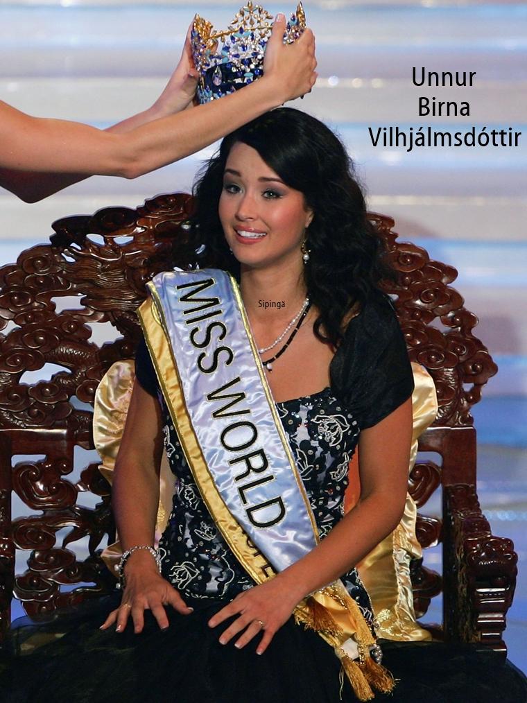 unnur birna vilhjalmsdottir, miss world 2005. 25jl8i10