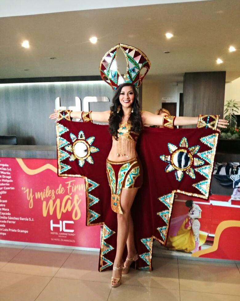 gabriela lambruschini, miss peru reyna internacional cafe 2018. - Página 5 26066111