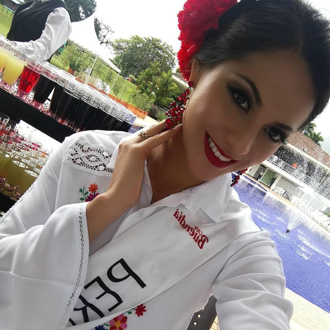 gabriela lambruschini, miss peru reyna internacional cafe 2018. - Página 3 26069010