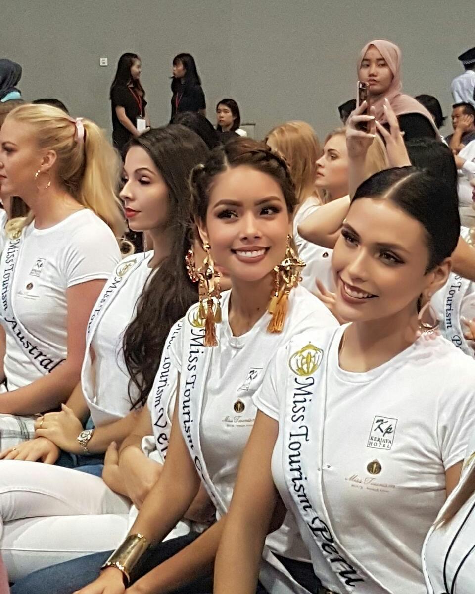 janick maceta, miss peru 2020/third runner-up de miss supranational 2019/1st runner-up de miss tourism 2017-2018.  - Página 3 26294610