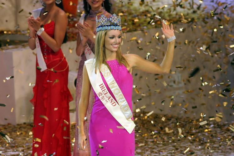 rosanna davison, miss world 2003. 27816410