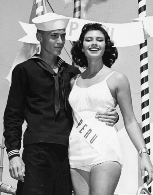 gladys zender, miss universe 1957. primera latina a vencer este concurso. - Página 3 2846e210