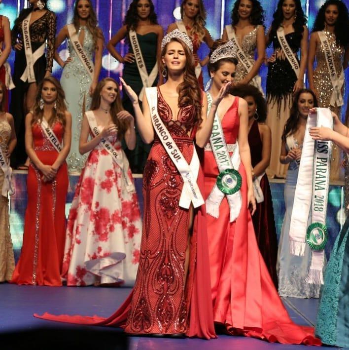 deise caroline ribas, miss parana mundo 2019/miss parana universo 2018/top 2 de miss teen international 2017. 29087510