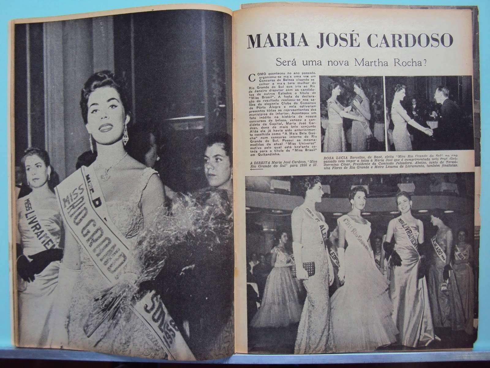maria jose cardoso, semifinalista de miss universe 1956. 33155610