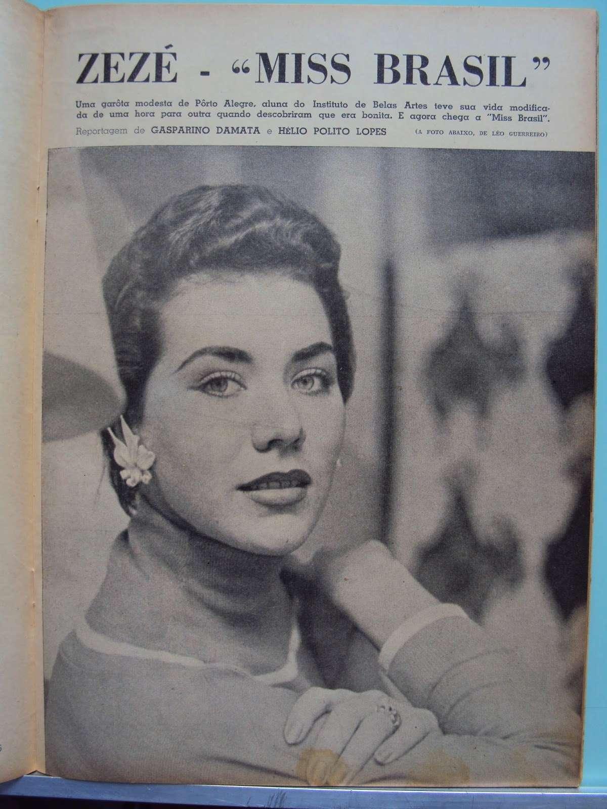 maria jose cardoso, semifinalista de miss universe 1956. 42f65210