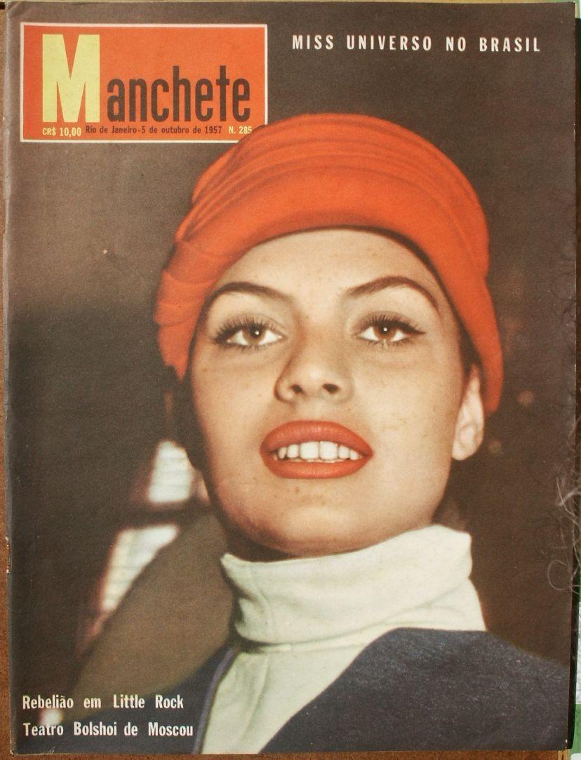 gladys zender, miss universe 1957. primera latina a vencer este concurso. - Página 2 71628610