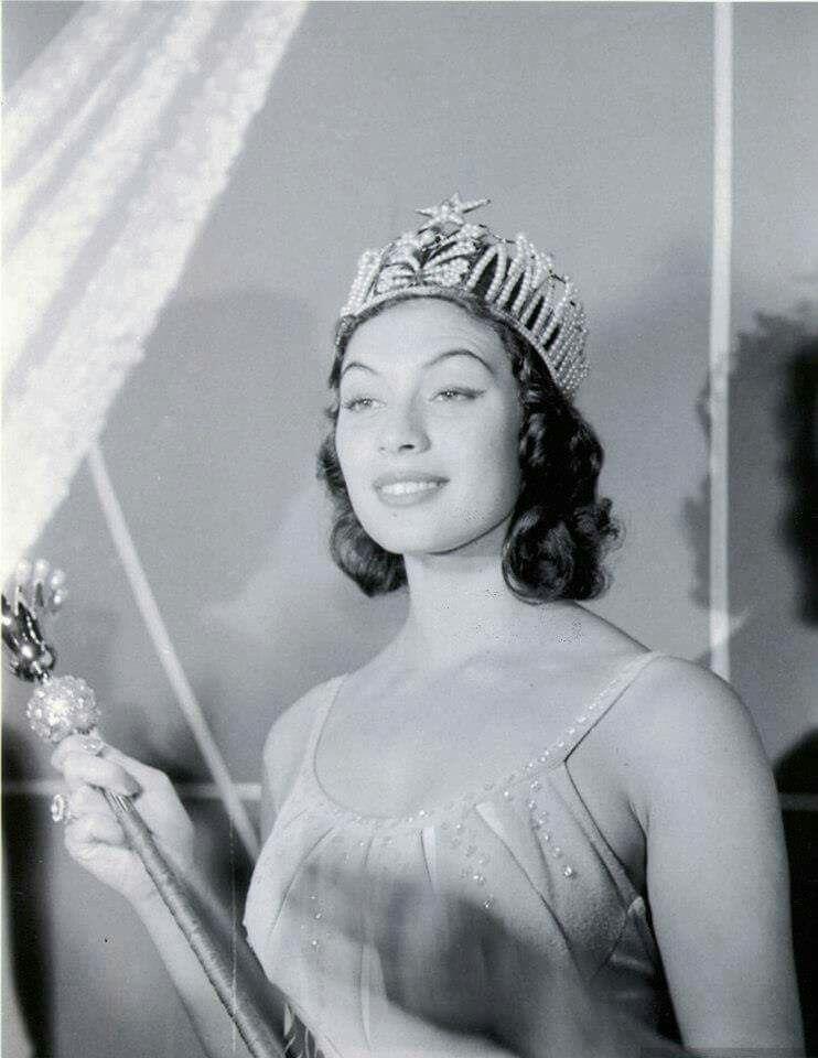 gladys zender, miss universe 1957. primera latina a vencer este concurso. - Página 2 81c0dc10