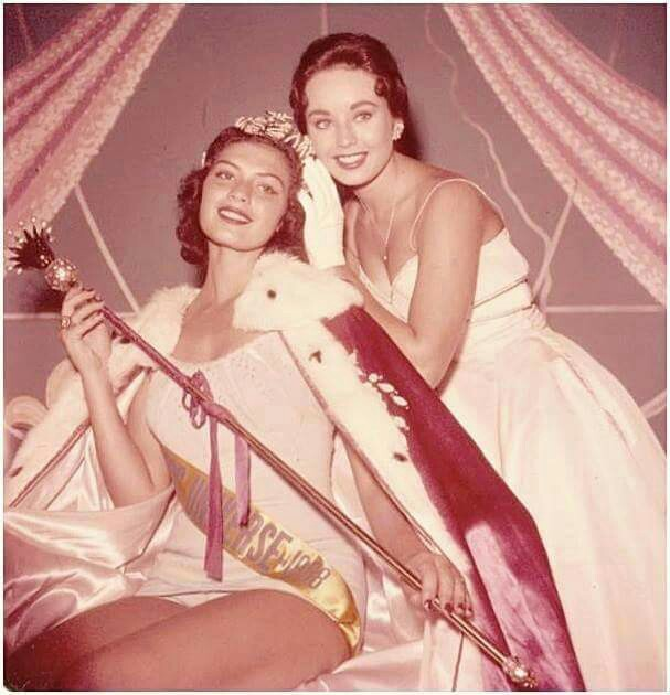 gladys zender, miss universe 1957. primera latina a vencer este concurso. 9cf3d510