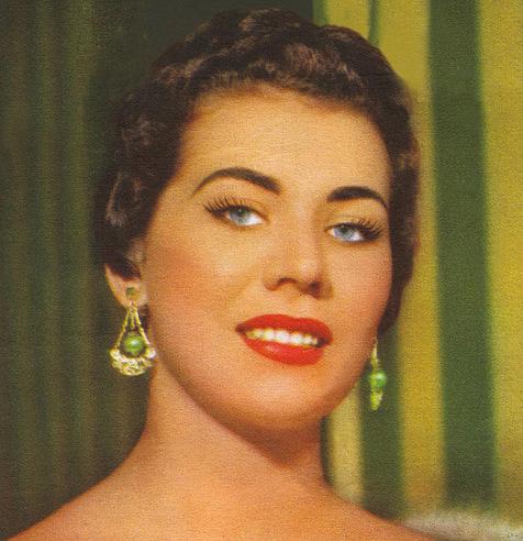 maria jose cardoso, semifinalista de miss universe 1956. Abelez10
