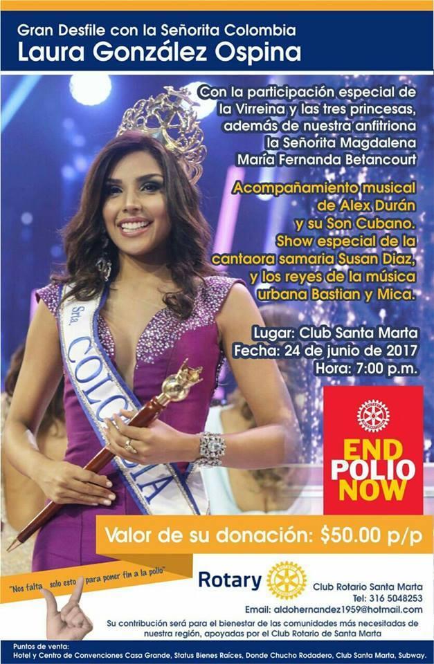 laura gonzalez, 1st runner-up de miss universe 2017. - Página 4 Afiche10
