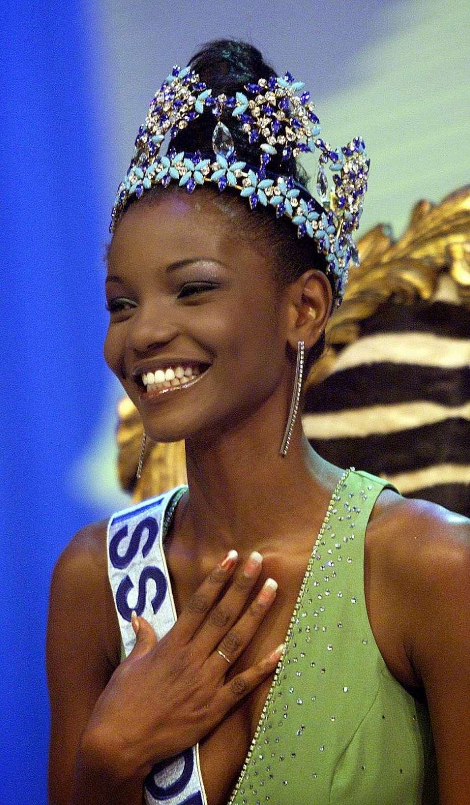 agbani darego, miss world 2001. Agbani10