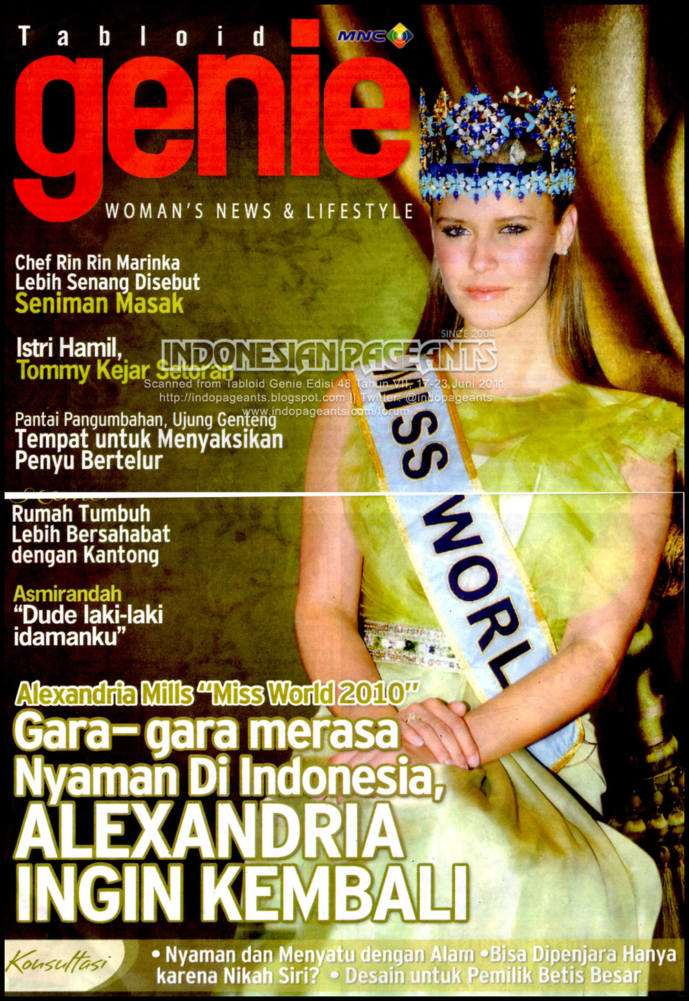 alexandria mills, miss world 2010. - Página 5 Alexan15