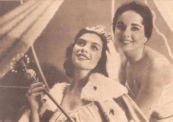 gladys zender, miss universe 1957. primera latina a vencer este concurso. B-glad10