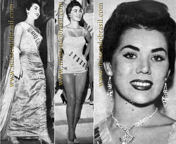 maria jose cardoso, semifinalista de miss universe 1956. Br561a10