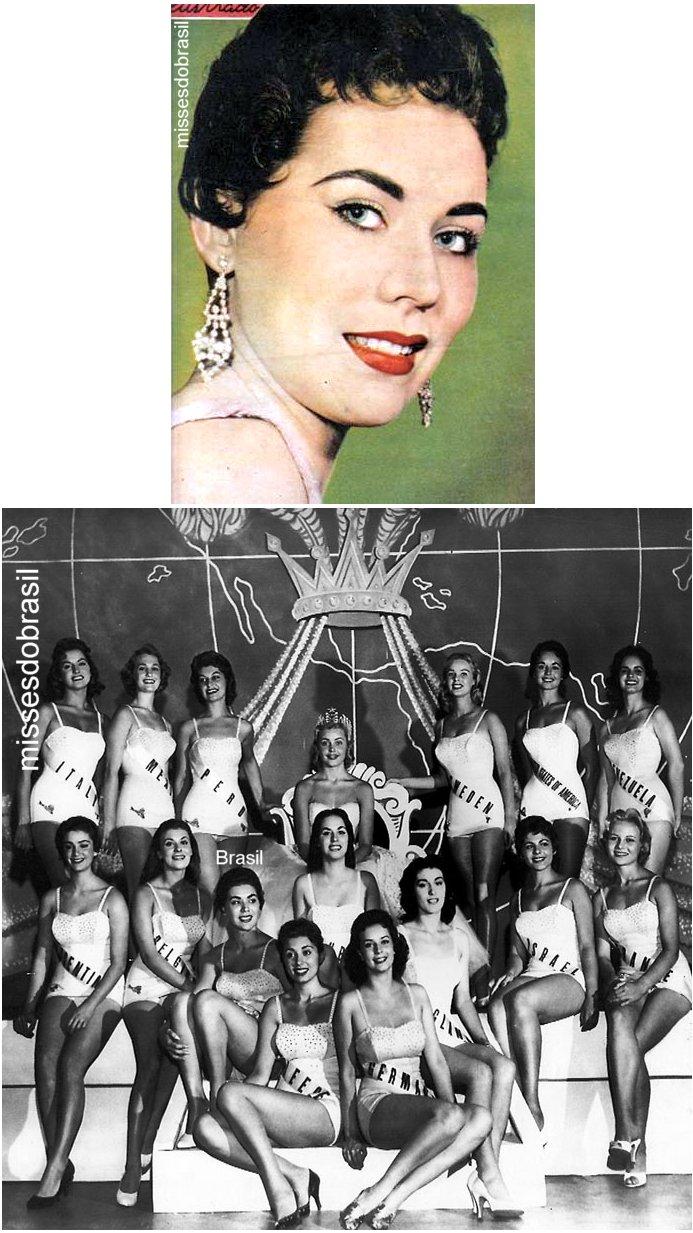 maria jose cardoso, semifinalista de miss universe 1956. Br56zx10