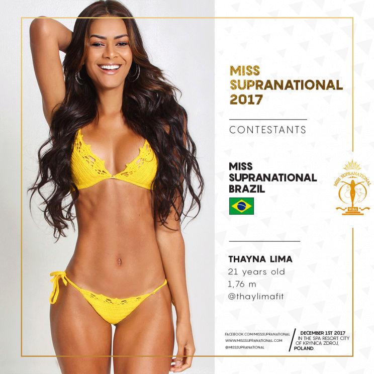 thayna lima, top 25 de miss supranational 2017. - Página 2 Brazil10