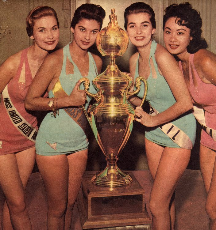 adalgisa colombo, top 2 de miss universe 1958. † Eurlyn10
