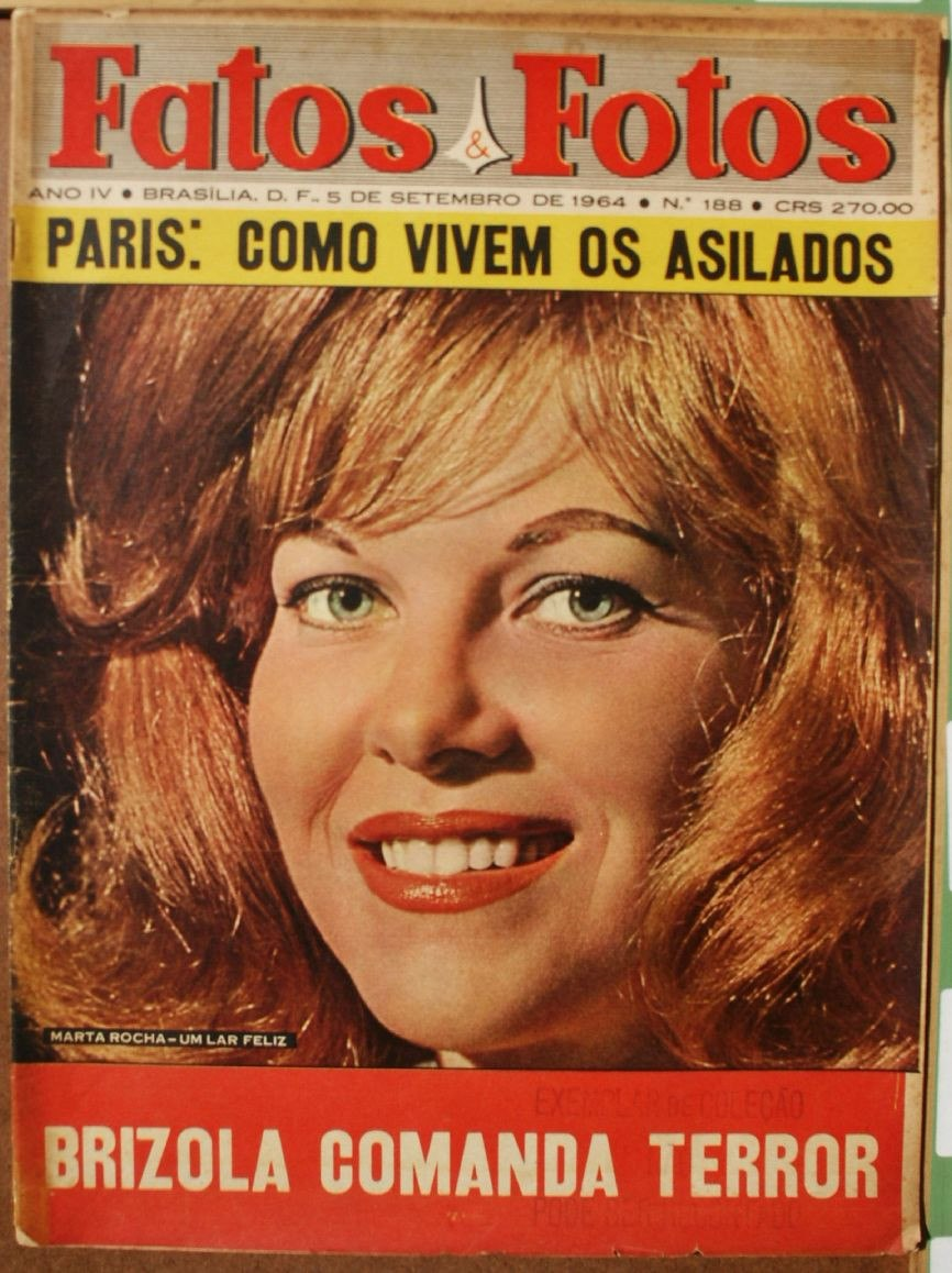 martha rocha, top 2 de miss universe 1954. primeira brasileira a participar de miss universe.†  - Página 2 Fatos-11