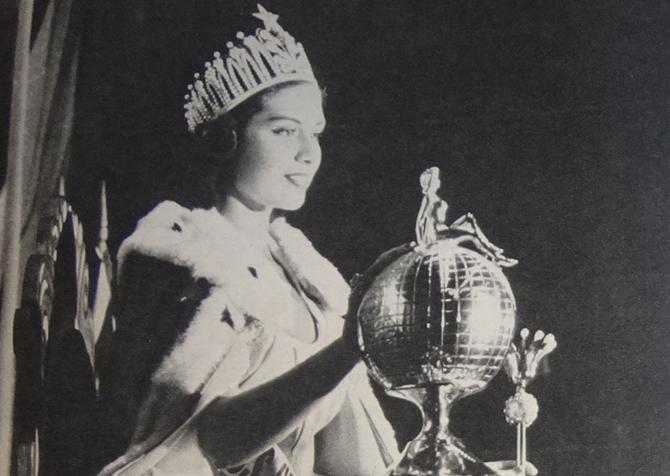 gladys zender, miss universe 1957. primera latina a vencer este concurso. - Página 2 Gladys12