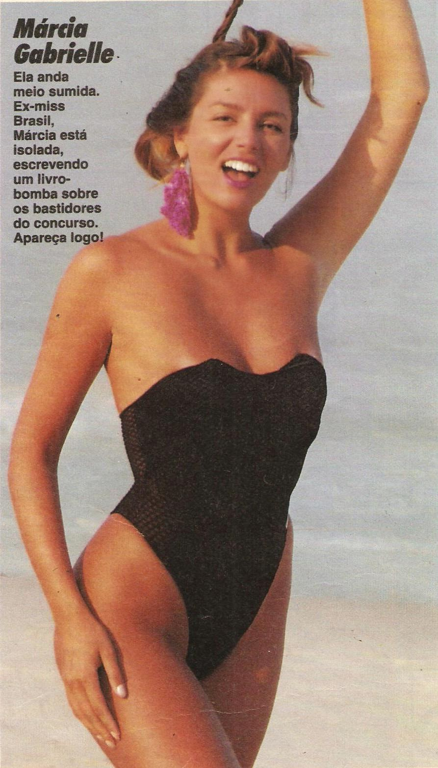 marcia gabrielle, miss brasil 1985. Image240